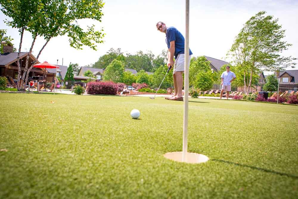 Cottages-of-Clemson-Central-SC-Golf-Simulator-Unilodgers