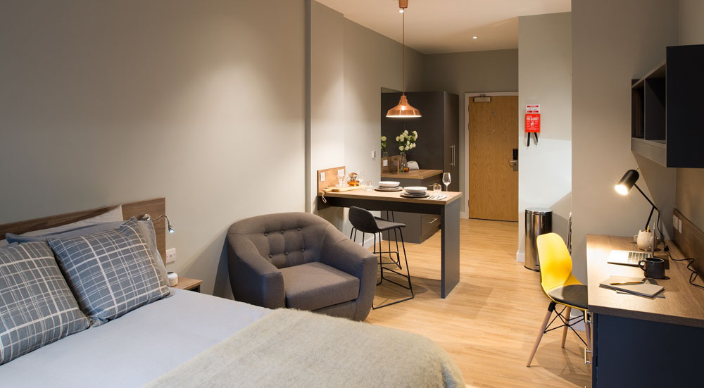 Crown-House-Sheffield-Bedroom-Unilodgers