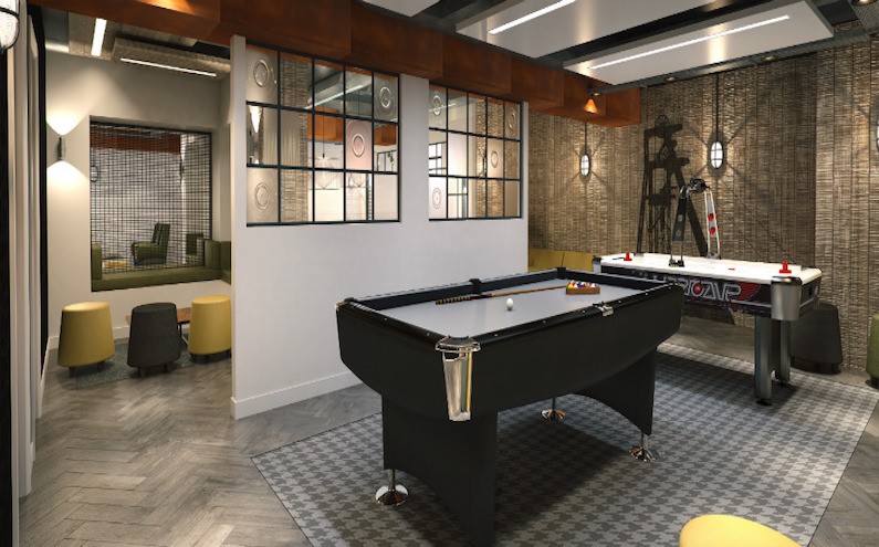 Crown-Place-Cardiff-Common-Space-Unilodgers