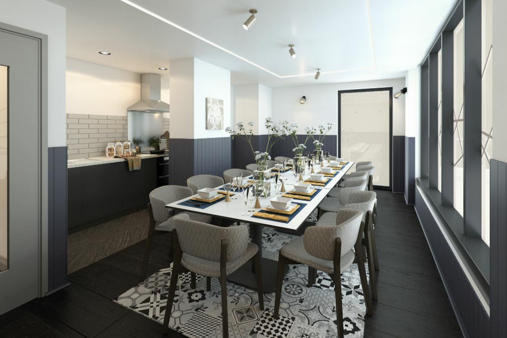 Crown-Place-Portsmouth-Common-Dining-Room-Unilodgers
