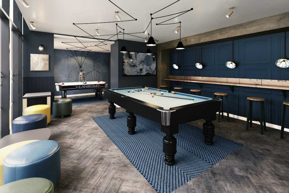 Crown-Place-Portsmouth-Games-Room-Unilodgers