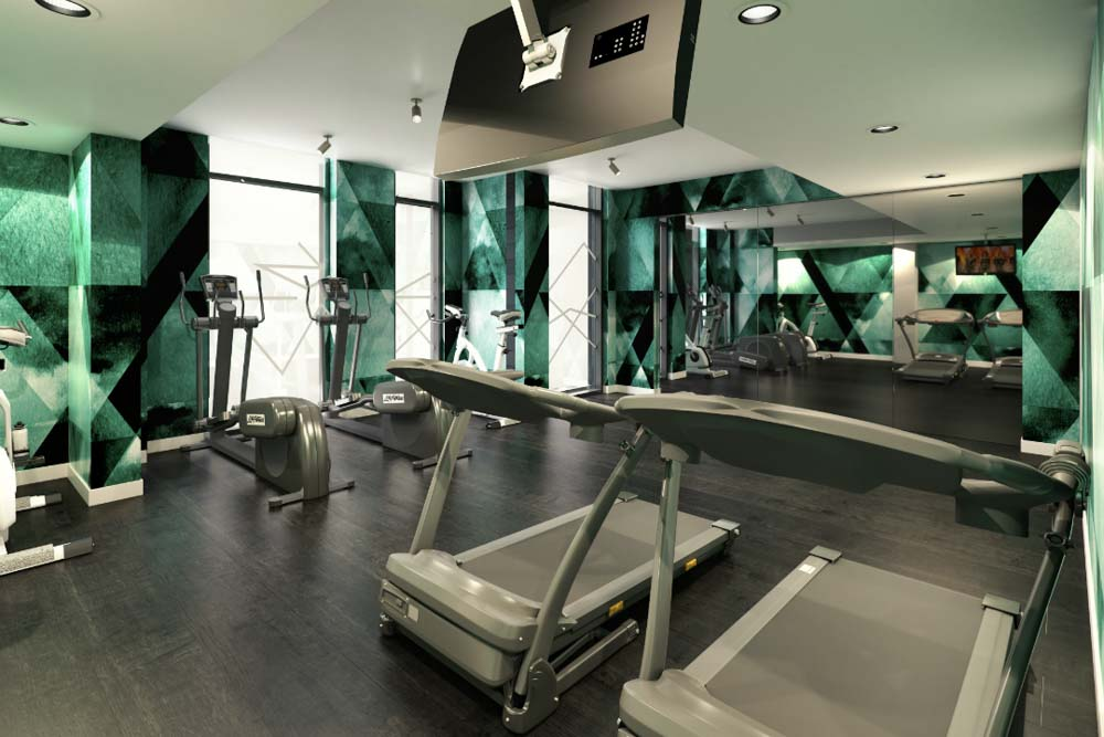 Crown-Place-Portsmouth-Gym-Unilodgers