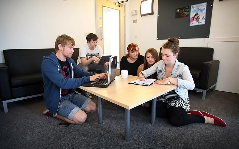 Denton-Holme-Student-Village-Carlisle-Study-Room-Unilodgers