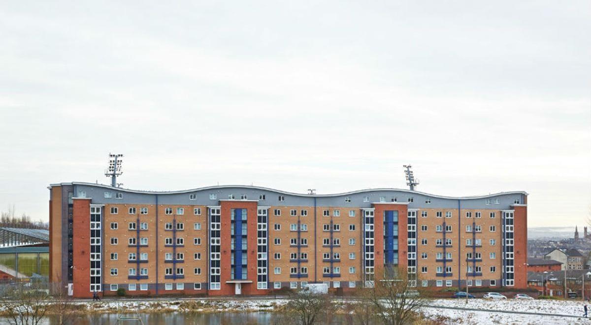 Firhill-Court-Glasgow-External-View-Unilodgers