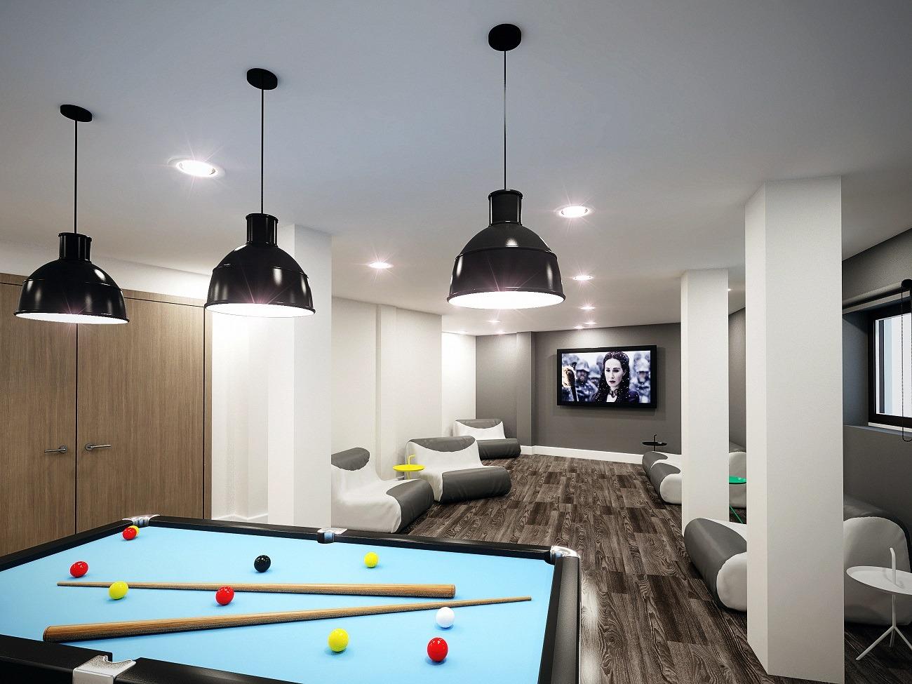 Glendower-House-Cardiff-Games-Room-Unilodgers