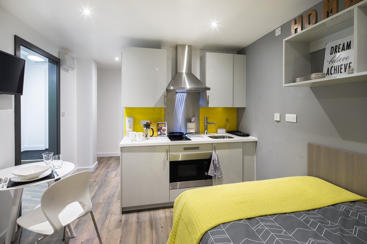 Glendower-House-Cardiff-Studio-Unilodgers