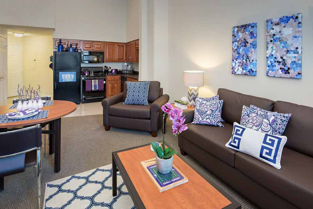 Grandmarc-At-Westberry-Place-Fort-Worth-TX-Living-Area-Unilodgers