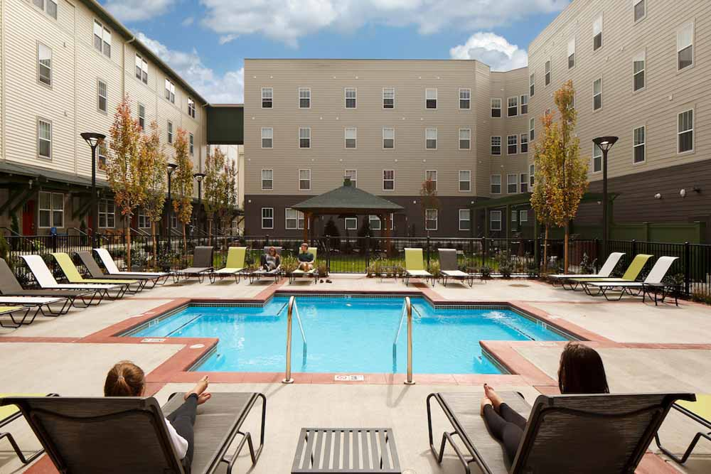 Hannah-Lofts-&-Townhomes-East-Lansing-MI-Swimming-Pool-Unilodgers