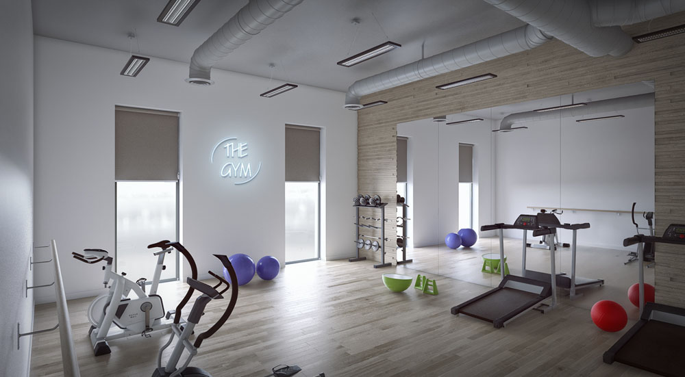 Homes-for-Students-Base-Glasgow-Gym-Unilodgers