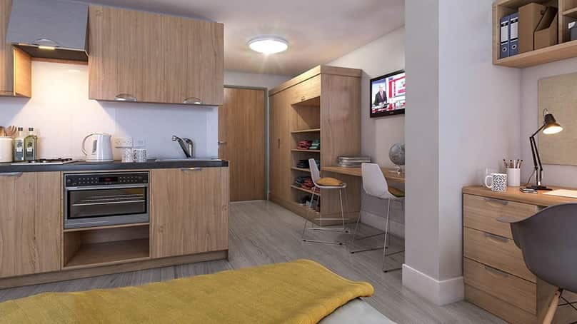 IQ-Steel-Sheffield-Bronze-En-Suite-Room-1-Unilodgers