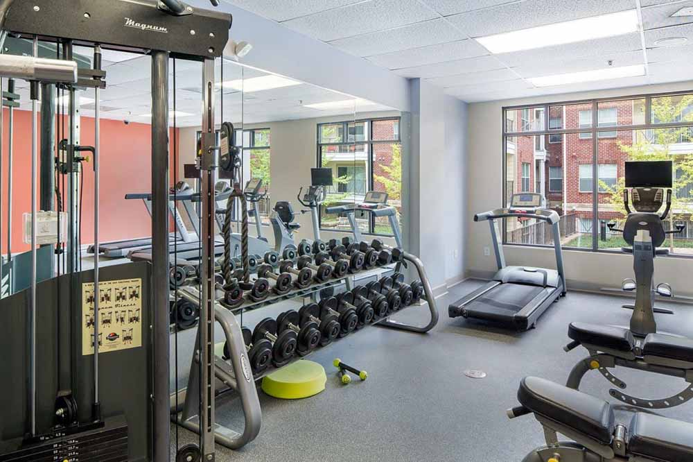 Jefferson-Commons-Charlottesville-VA-Gym-Unilodgers