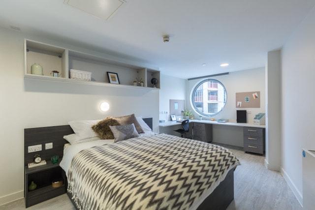 Livin-Cardiff-Bedroom-Unilodgers