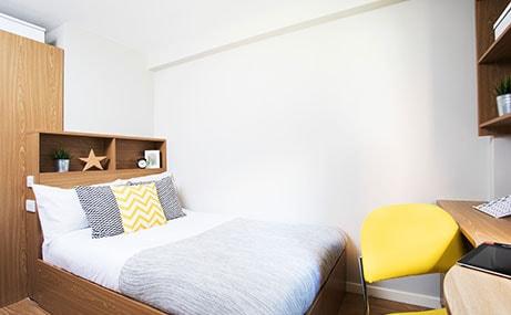 Manor-Bank-Newcastle-Upon-Tyne-Bedroom-Unilodgers