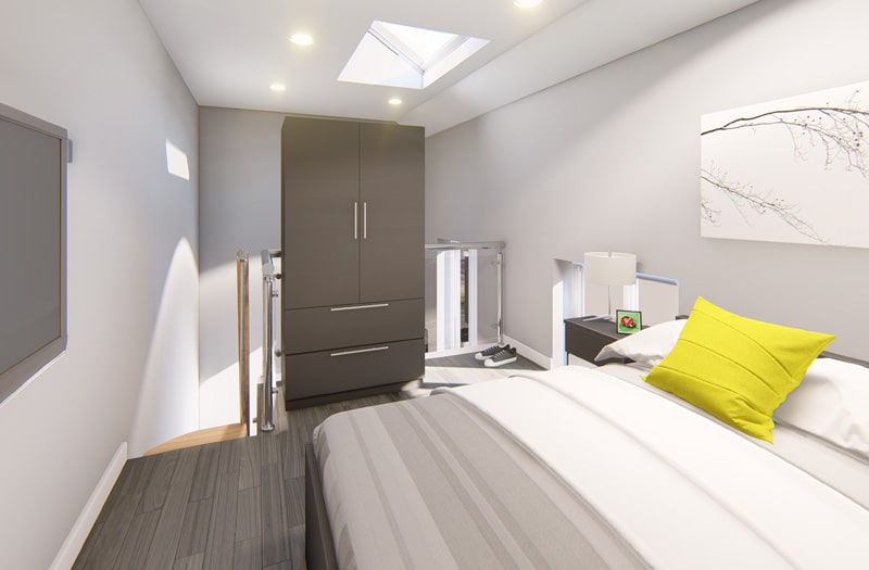 Mansion-Point-Manchester-Bed-With-Wardrobe-Unilodgers