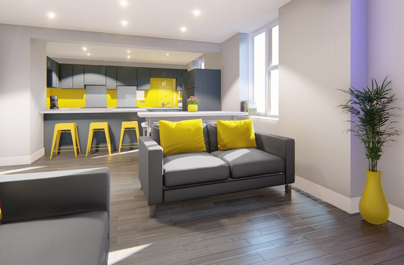 Mansion-Point-Manchester-Common-Room-With-Kitchen-Unilodgers