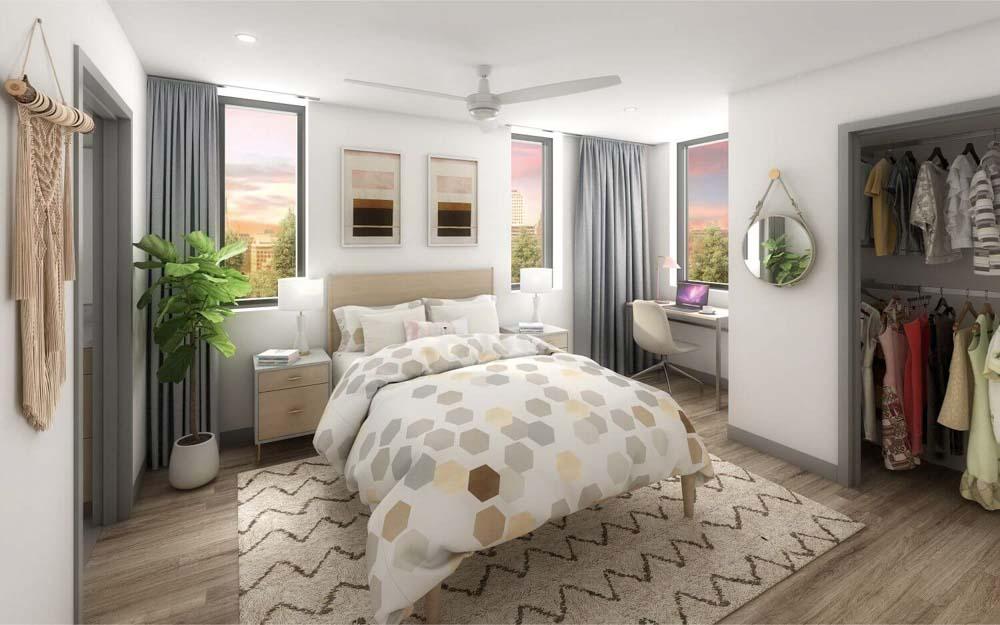 MoonTower-Austin-TX-Bedroom-Unilodgers