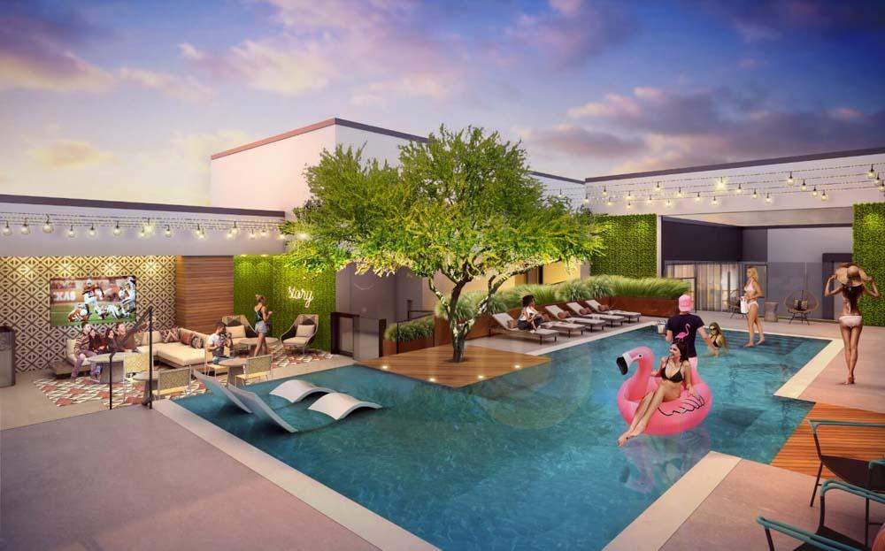 MoonTower-Austin-TX-Swimming Pool-Unilodgers