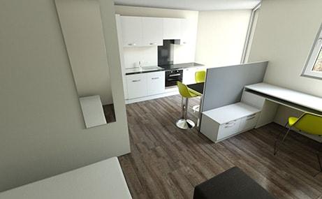 Newgate-Court-Newcastle-Upon-Tyne-Bedroom-2-Unilodgers