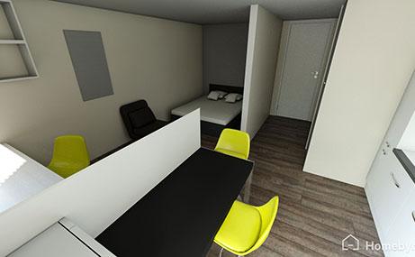 Newgate-Court-Newcastle-Upon-Tyne-Bedroom-3-Unilodgers