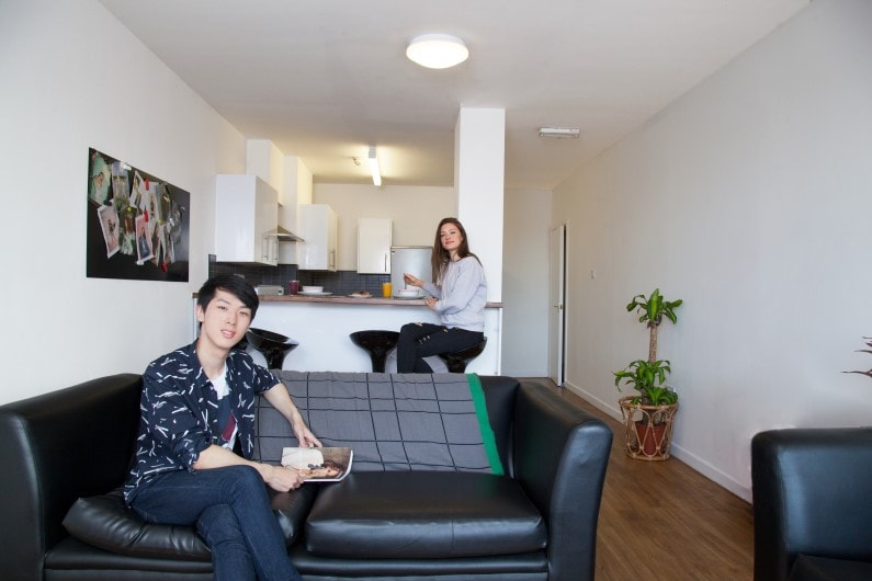 Nido-Haigh-Court-Liverpool-Shared-Living-Dining-Area-Unilodgers