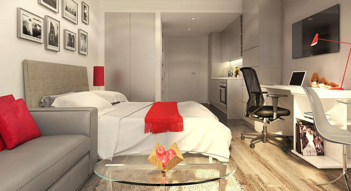 Northgate-Point-Chester-Bedroom-Unilodgers
