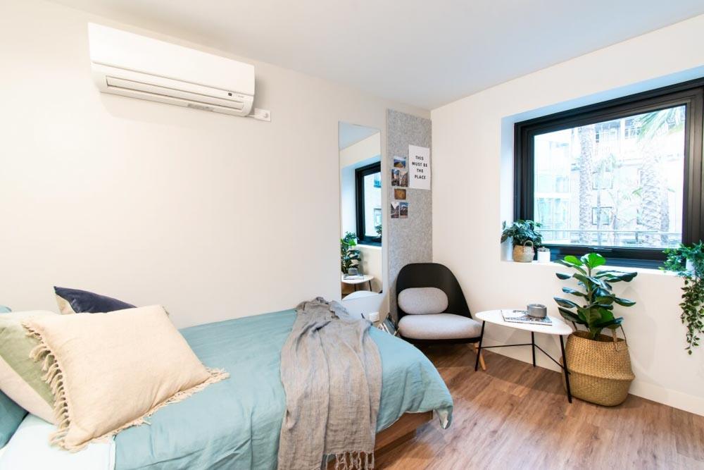 Park-Ave-Parkville-Melbourne-Single-Room-Co-Living-Bedroom-Unilodgers