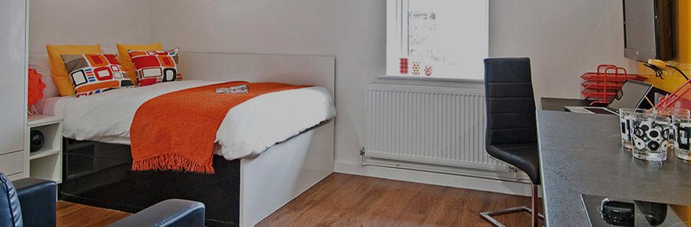 Park Wharf-Nottingham-Bedroom-Unilodgers
