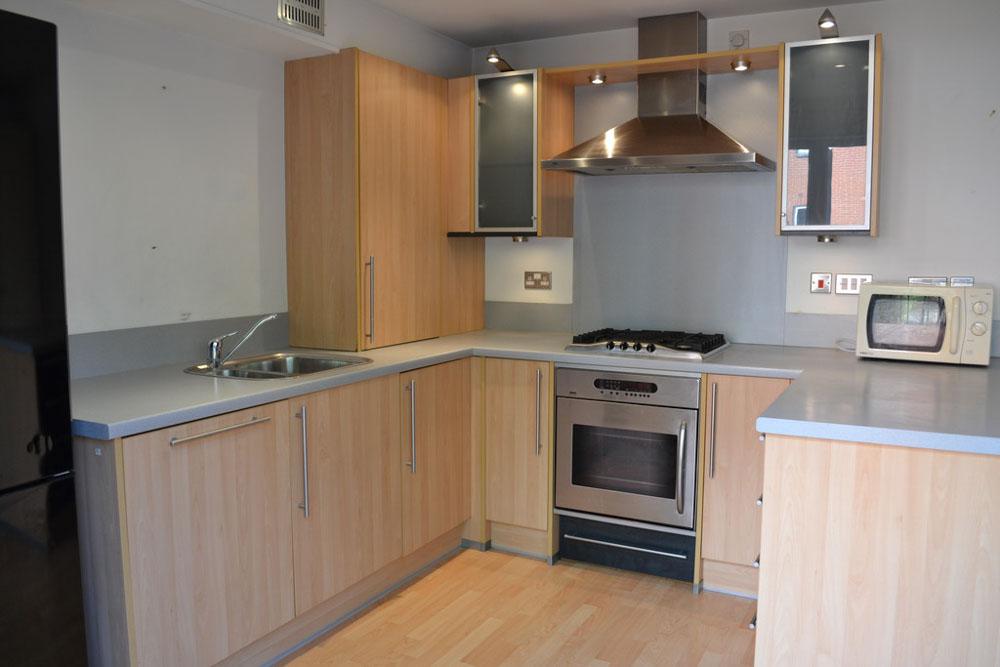 Park Wharf-Nottingham-Kitchen-Unilodgers