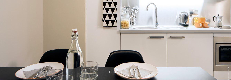 Paul-St-East-London-1-Bed-Apartment-Kitchen-Area-Unilodgers