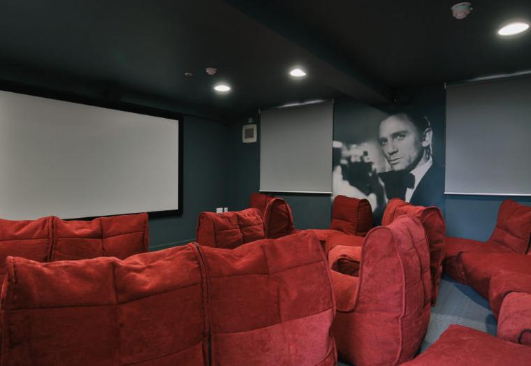 Provincial-House-Sheffield-Cinema-Room-Unilodgers
