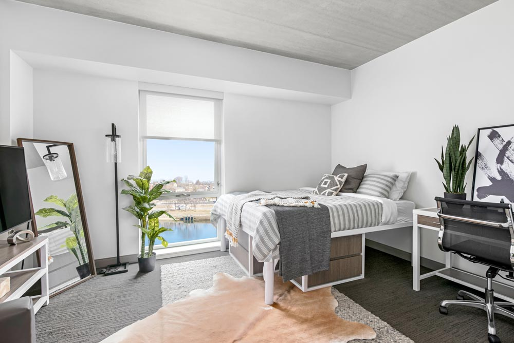 River-House-Providence-RI-Bedroom-Unilodgers
