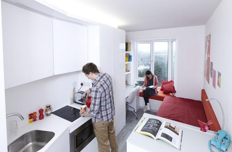 Scape-Mile-End-Canalside-London-Studio-Kitchen-Unilodgers