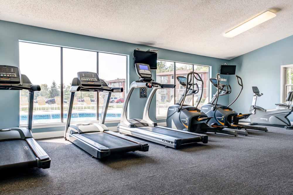Silvertree Communities-Muncie-IN-Gym-Unilodgers