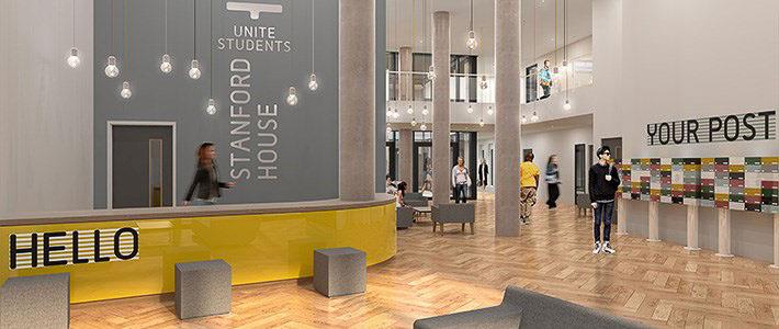 Staniforth-House-Birmingham-Reception-Unilodgers