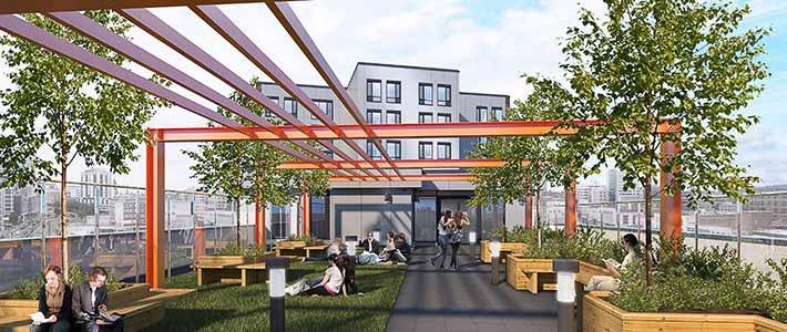 Staniforth-House-Birmingham-Rooftop-Unilodgers
