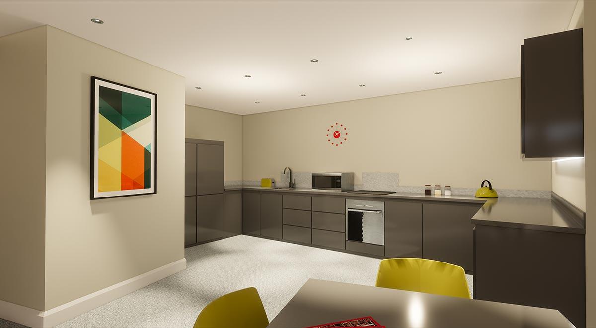 Star-Residence-Sheffield-Kitchen-Unilodgers