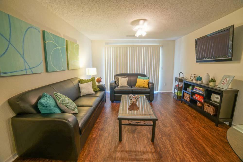 Student-Quarters-1350-Hazelwood-Murfreesboro-TN-Living-Area-With-TV-Unilodgers
