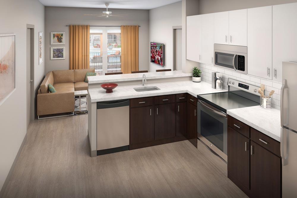 The-Avenue-Fayetteville-AR-Kitchen-Unilodgers