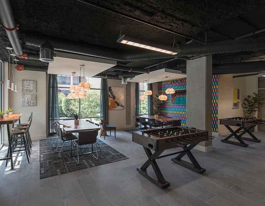 The-Corner-Austin-TX-Games-Room-Unilodgers