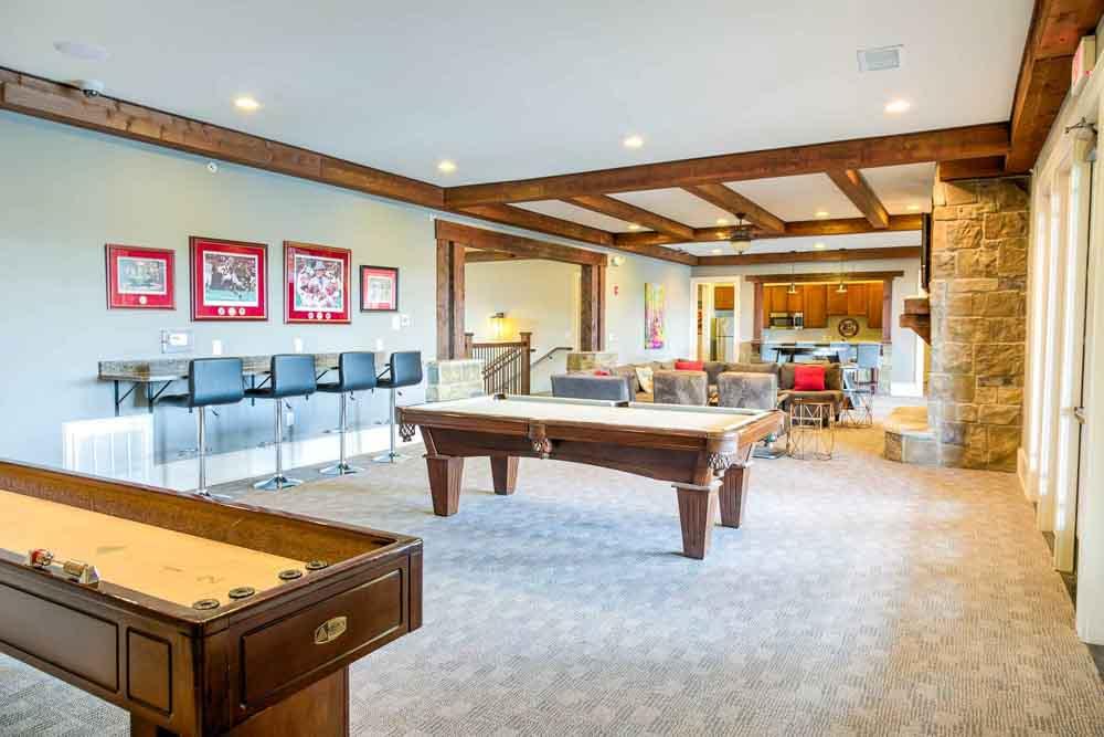 The-Cottages-At-Lake-Tamaha-Tuscaloosa-AL-Games-Room-Unilodgers