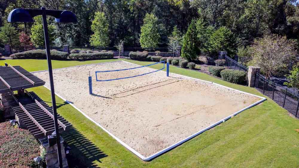 The-Cottages-At-Lake-Tamaha-Tuscaloosa-AL-Volleyball-Court-Unilodgers