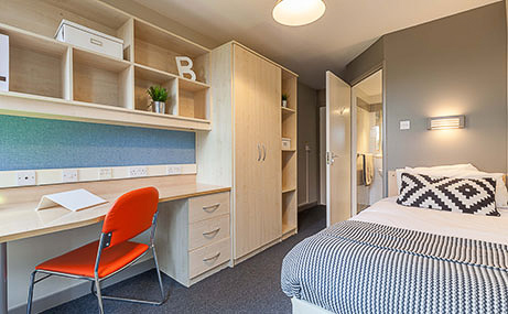 The-Old-Fire-Station-Aberdeen-Ensuite-Room-Unilodgers
