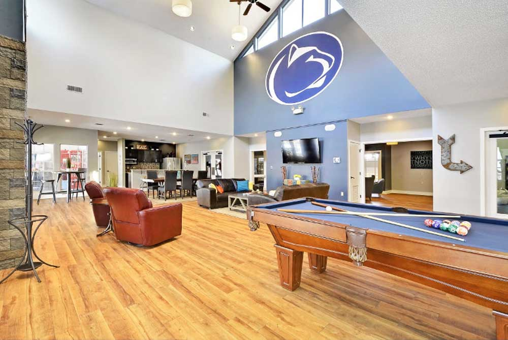 The-Park-at-State-College-PA-Pool-Table-Unilodgers