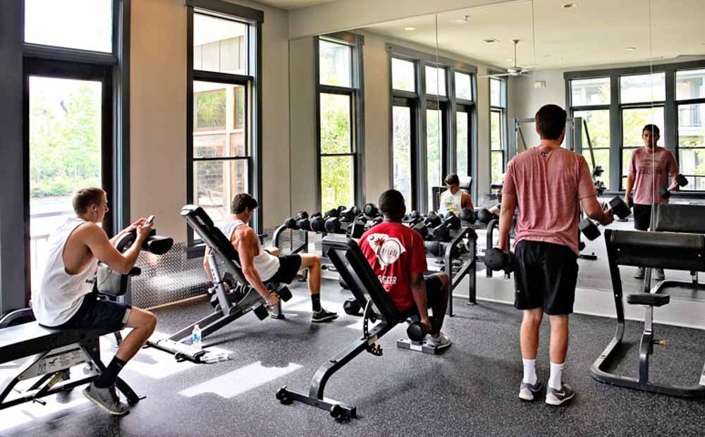 The-Village-At-Columbia-SC-Gym-Unilodgers
