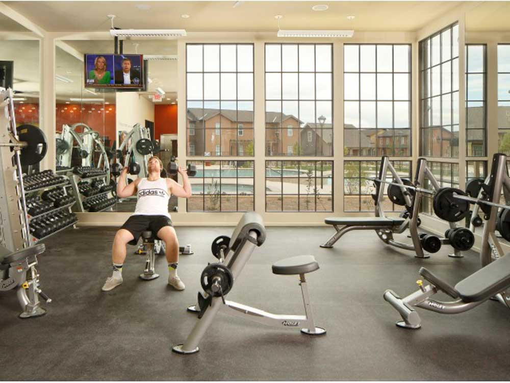 The View - Valley View Villas-Albuquerque-NM-Gym-Unilodgers