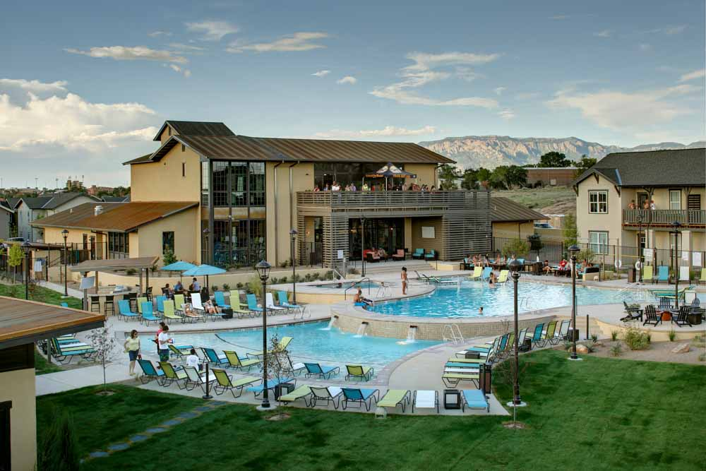 The View - Valley View Villas-Albuquerque-NM-Swimming Pool-Unilodgers