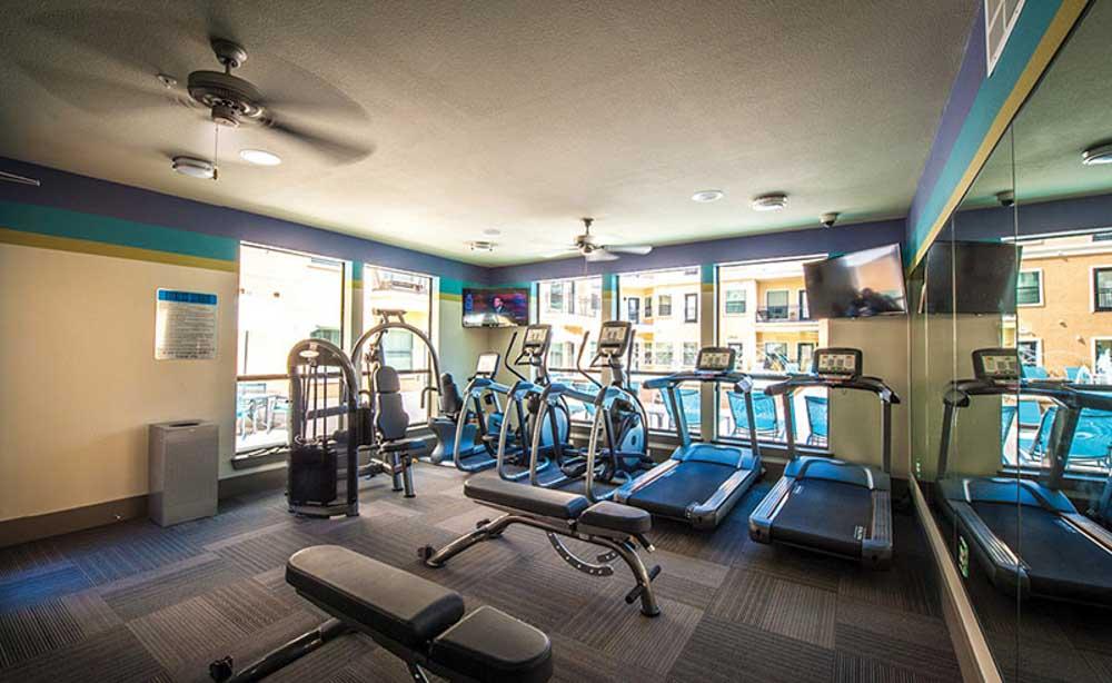 University-House-TCU-Fort-Worth-TX-Gym-Unilodgers