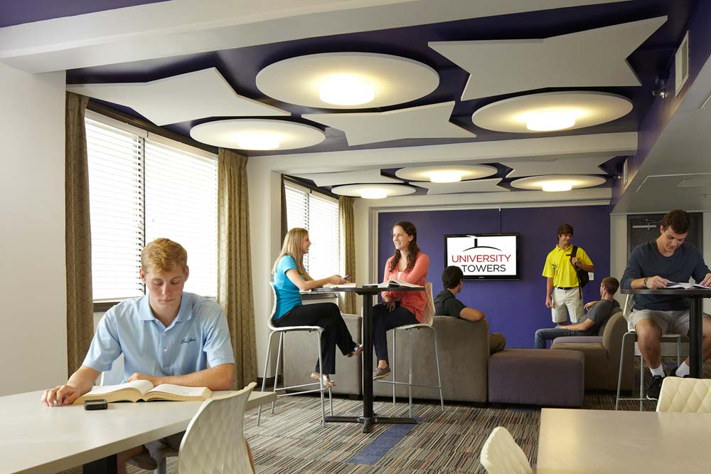 University-Towers-Raleigh-NC-Study-Lounge-Unilodgers