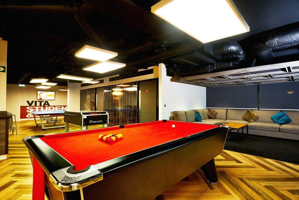 Vita-Student-Richmond-House-Southampton-Games-Room-Unilodgers