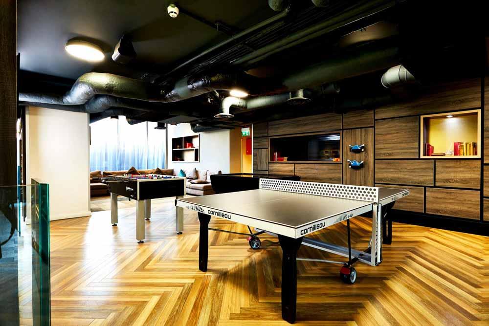 Vita-Student-Sheffield-Games- Room-Unilodgers